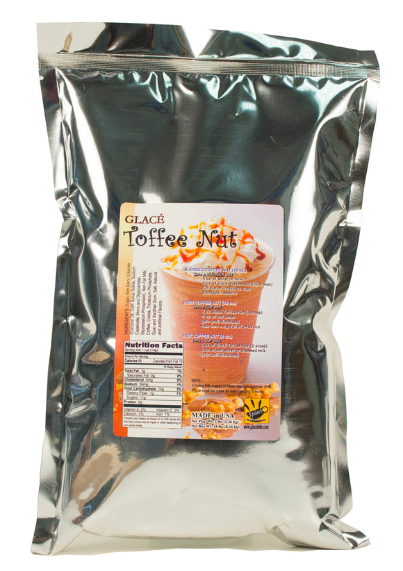 Toffee Nut (English Toffee) Bubble Tea / Latte and Frappe Mix 3.0lb bag