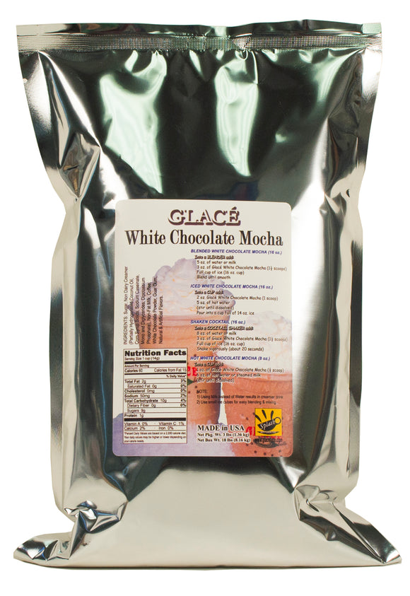 White Chocolate Mocha 4 in 1 Bubble Tea / Latte and Frappe Mix