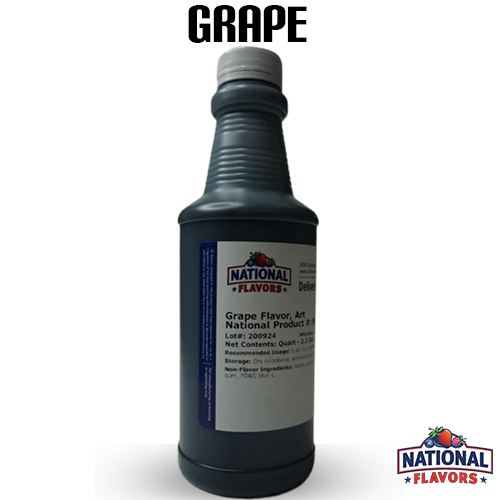 Grape Flavor 32 oz Bottle