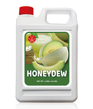 Honeydew Fruit Syrup 5KG Jar