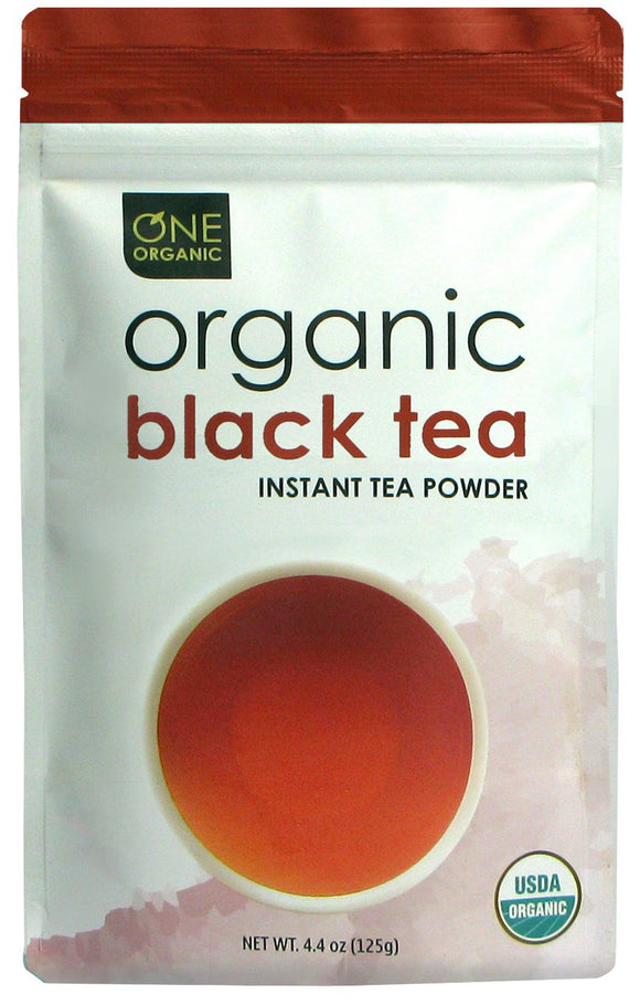 Instant Black Tea Premium Organic - 125 grams (4.4 oz) Pouch