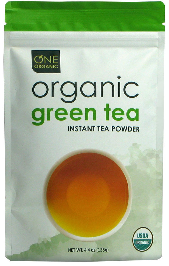 Instant Green Tea Premium Organic - 125 grams (4.4 oz) Pouch