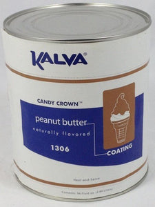 Kalva Peanut Butter Cone Dip Coating #10 Can - KALVA 1306