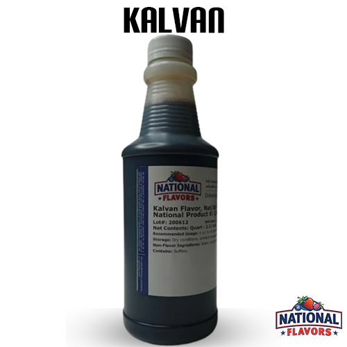 Vanilla (Kalvan) Flavor 32 oz Bottle