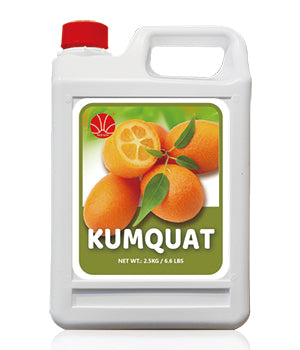 Kumquat Fruit Syrup 5KG Jar