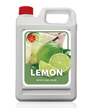 Lemon Fruit Syrup 5KG Jar
