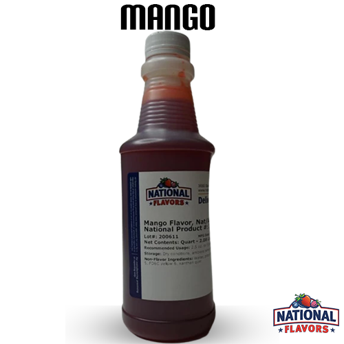 Mango Flavor 32 oz Bottle