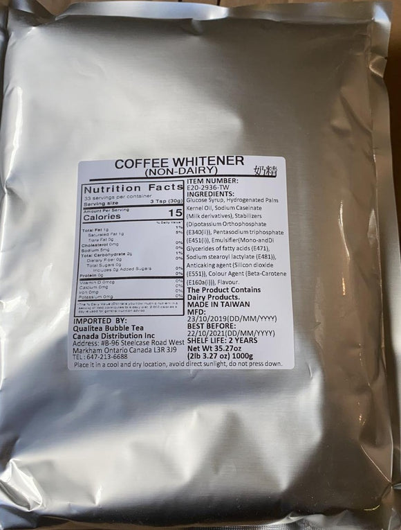 Non Dairy Creamer (Coffee Whitener) 1 KG Bag
