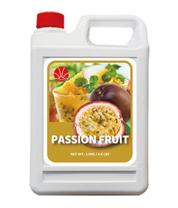 Passion Fruit Syrup 5KG Jar