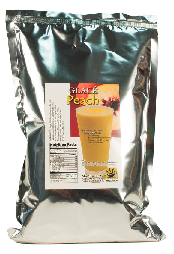 Peach 4 in 1 Bubble Tea / Fruit Smoothie Mix