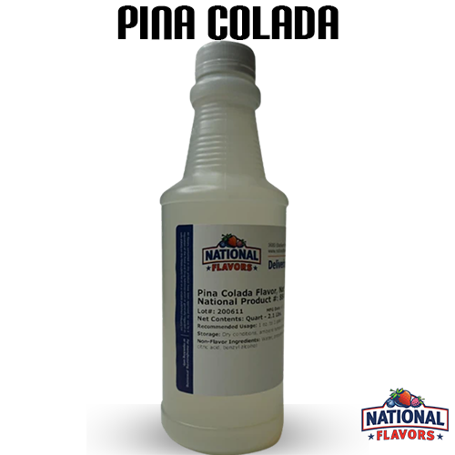 Pina Colada Flavor 32 oz Bottle