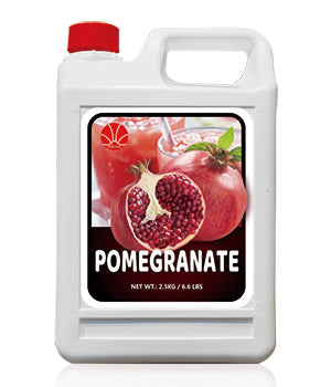 Pomegranate (Grenadine) Fruit Syrup 5KG Jar