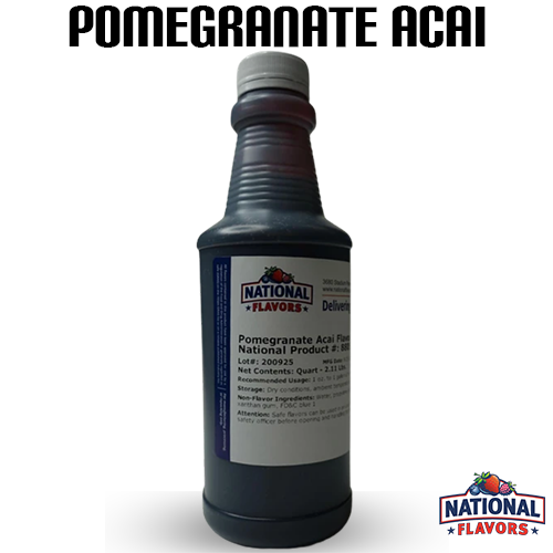 Pomegranate Acai Flavor 32 oz Bottle