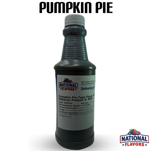 Pumpkin Pie Flavor 32 oz Bottle