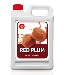 Red Plum Fruit Syrup 5KG Jar