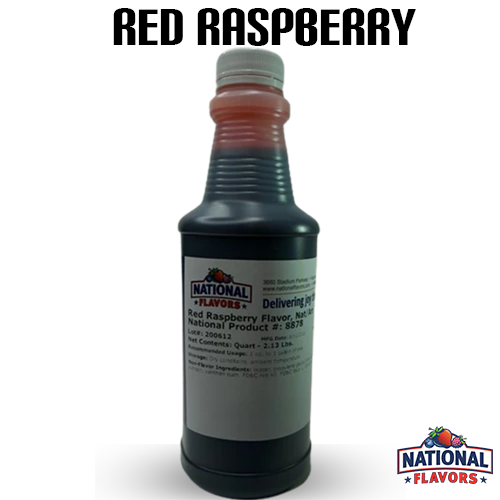 Red Raspberry Flavor 32 oz Bottle