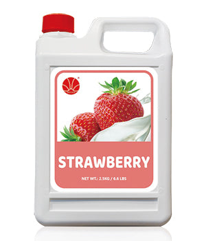 Strawberry Fruit Syrup 5KG Jar