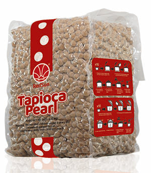 Tapioca Pearls, Boba for Bubble Tea - (6 x 5lbs bags)