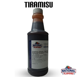 Tiramisu Flavor 32 oz Bottle