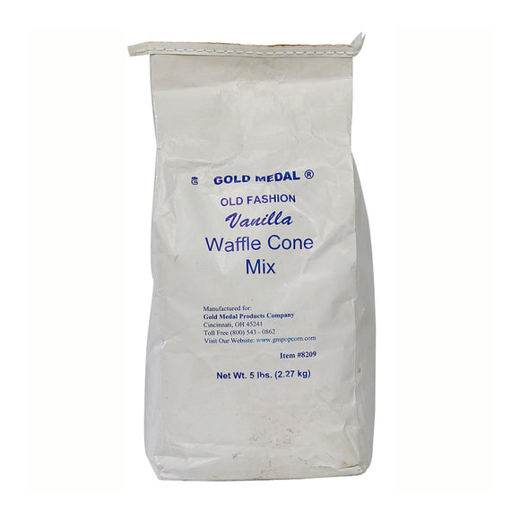 Old-Fashioned Waffle Cone Mix (6 x 5 Lbs. Bags) Made in the USA