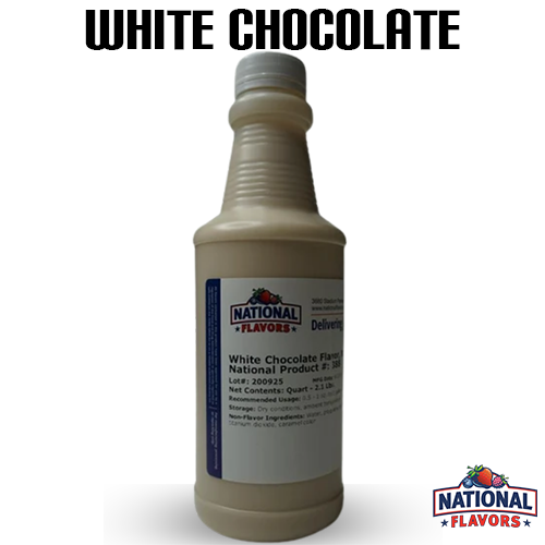 White Chocolate Flavor 32 oz Bottle