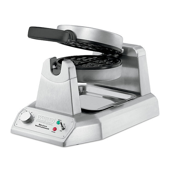 Waring WW180X Commercial Single Belgian Waffle Maker – 120V 1200W