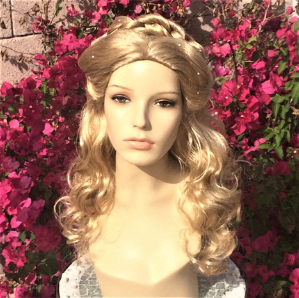 Cinderella 2015 Live Action Movie Princess Wig