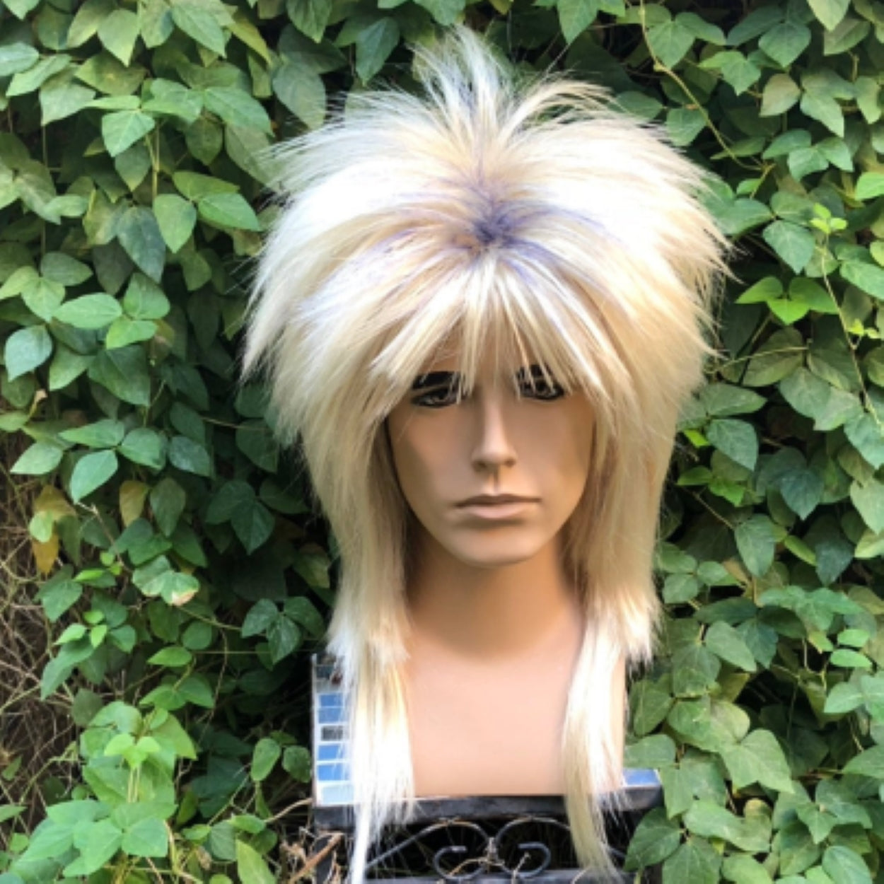 Jareth Labyrinth Blonde Spiked 80s Wig - Royal Enchantments