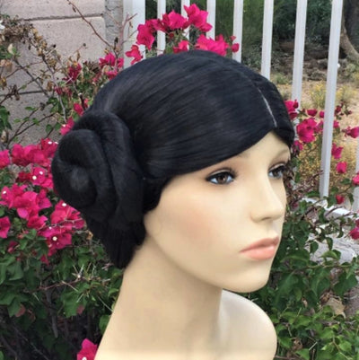 Leia Inspired Black Bun New Hope Wig - Royal Enchantments