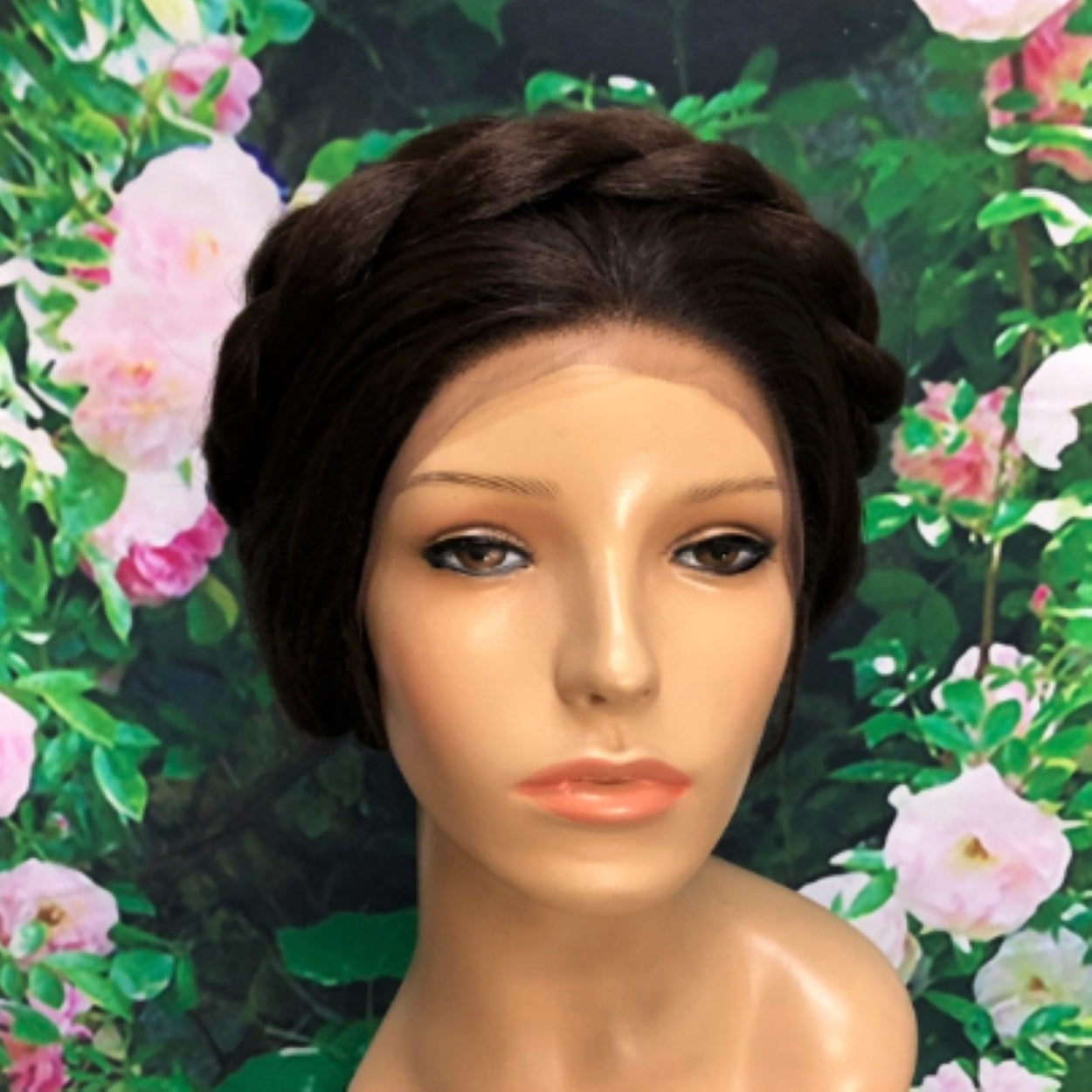 Leia Inspired Hoth Princess Wars Lace Front Wig