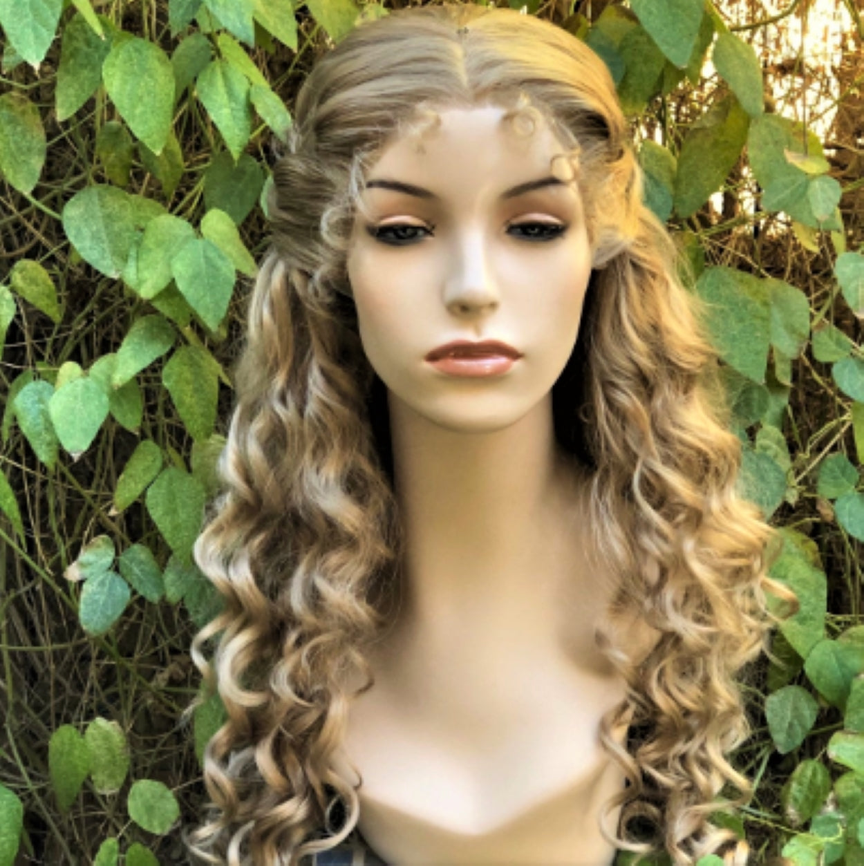 Phantom Meg Blonde Curly Broadway Theater Lace Front Wig