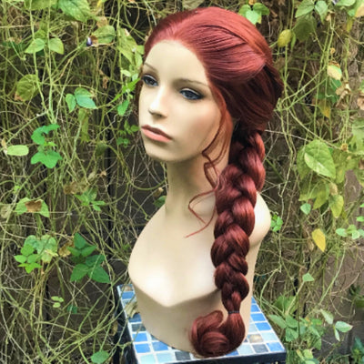Sansa Braid Wig Game Thrones Stark Lace Front - Royal Enchantments