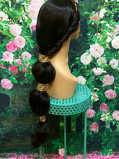 Jasmine Inspired Live Action Movie Lace Front Wig - Royal Enchantments