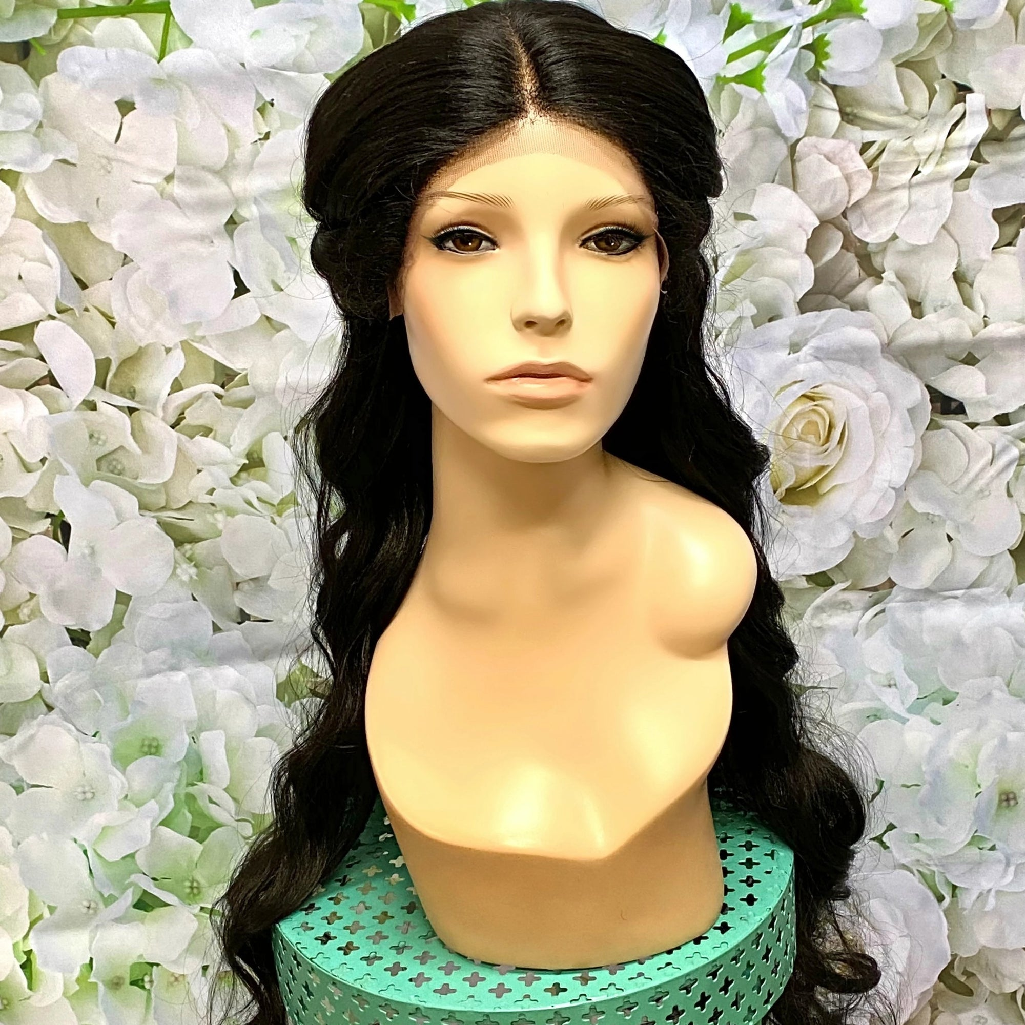 Jasmine Inspired Live Action Movie Lace Front Down Wig - Royal Enchantments