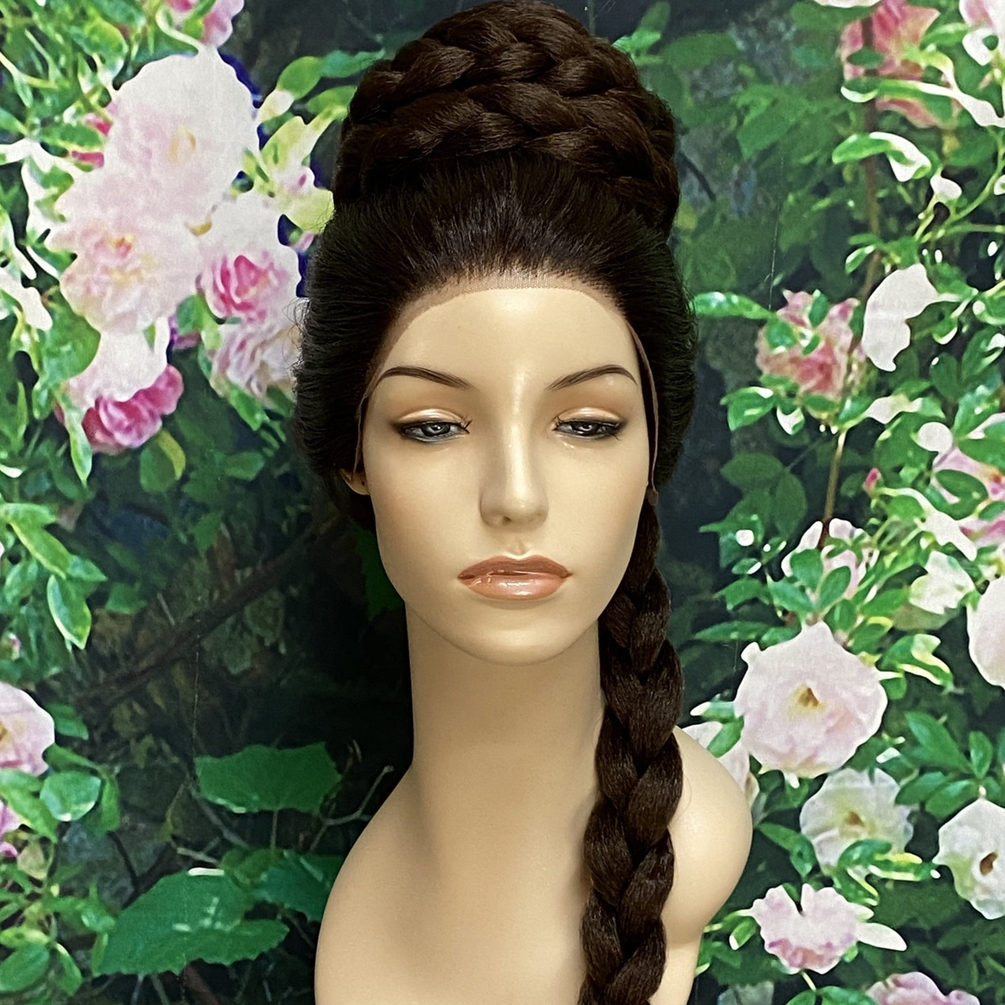Leia Inspired Ceremony Braid Princess Lace Front Wig