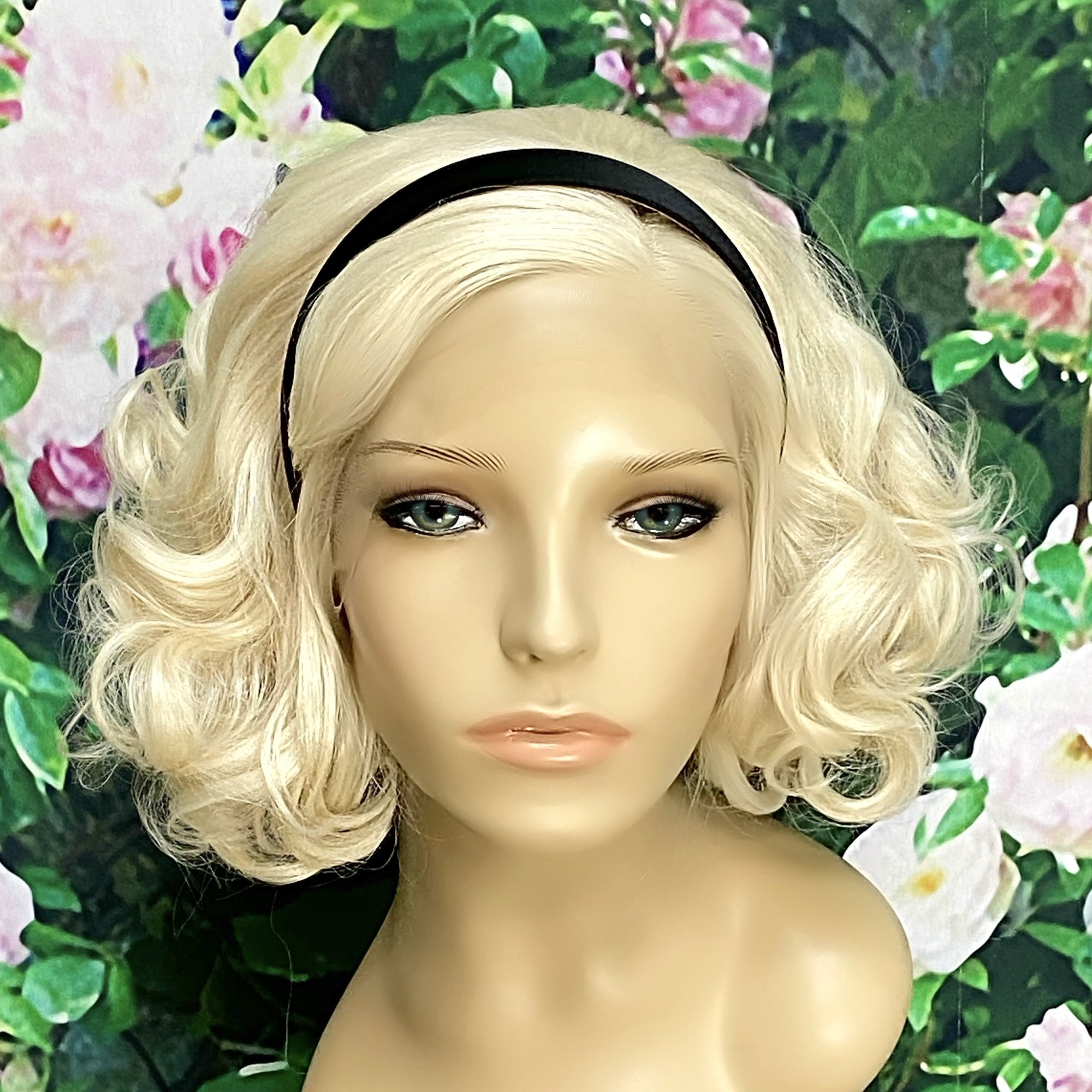 Sabrina Witch Chilling Short blonde Lace Front Wig - Royal Enchantments