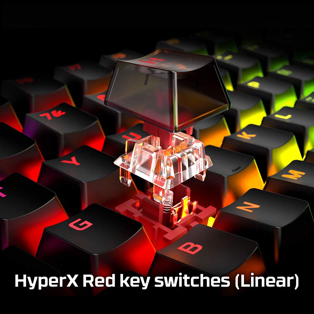 HyperX Alloy Origins Mechanical Gaming Keyboard with HyperX Mechanical Red Switch