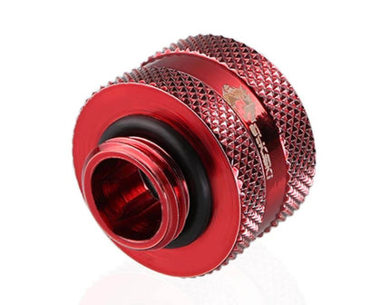 Bykski Rigid 16mm OD Fitting V2 - Red (B-HTJV2-L16)