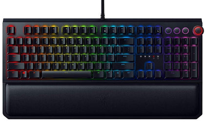 Razer BlackWidow Ultimate – Mechanical Gaming Keyboard -  (GREEN SWITCH) RZ03-01703000-R3M1