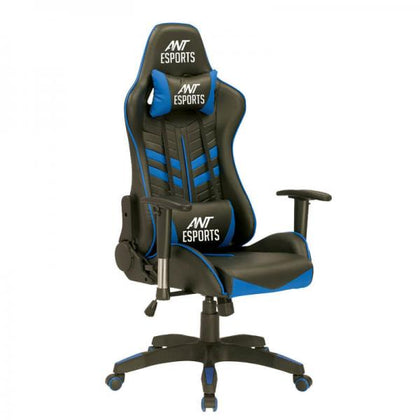 Ant Esports GameX Delta Gaming Chair Blue and Black Front