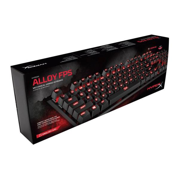 HyperX Alloy FPS Cherry MX Red Switches