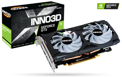 INNO3D GEFORCE GTX 1660 SUPER TWIN X2 OC RGB 6GB