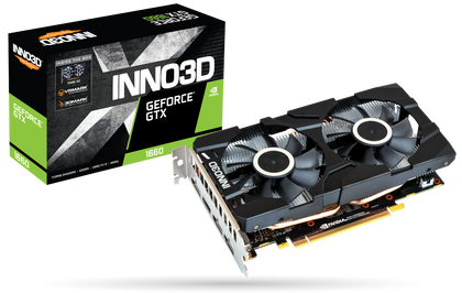INNO3D GEFORCE GTX 1660 6 GB TWIN X2