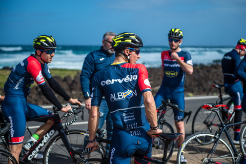 Riders Cervelo development team