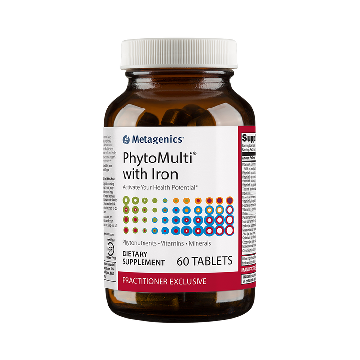 PhytoMulti® with Iron <br>Redefine Your Health Potential*