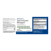SpectraZyme® Metagest® (formerly Metagest) <br>Stomach Acid Support* Features Betaine HCl & Pepsin
