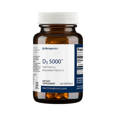 D3 5000™ <br>High Potency, Bioavailable Vitamin D