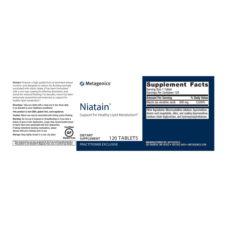 Niatain® <br>Support for Healthy Lipid Metabolism*