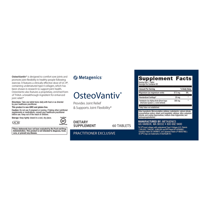 OsteoVantiv® <br>Provides Joint Relief & Supports Joint Flexibility*