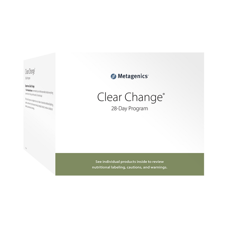 Clear Change® 28 Day Program with UltraClear® RENEW <br>Metabolic Detoxification Program with UltraClear® RENEW